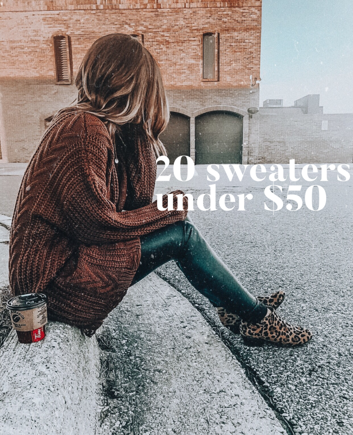 20 sweaters under$50